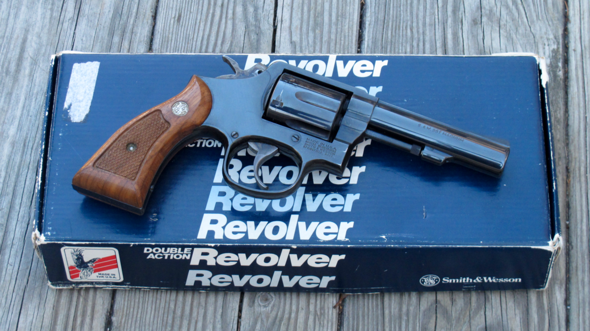Retro Revolver: Smith & Wesson Model 13