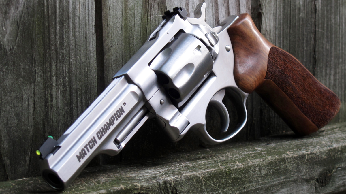 Ruger GP100 Match Champion | RevolverGuy com