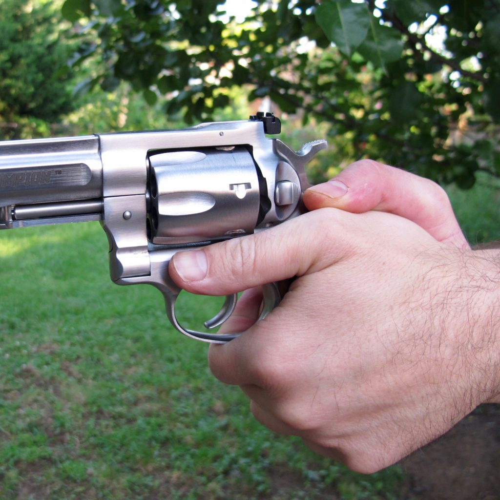 Thumbs-Forward Revolver Grasp