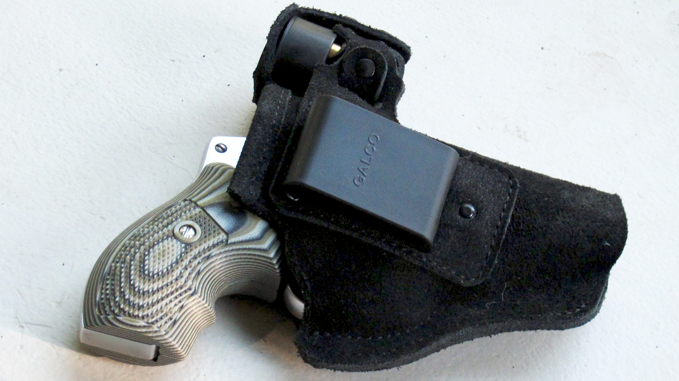 The Galco Walkabout J-Frame Holster | RevolverGuy.com