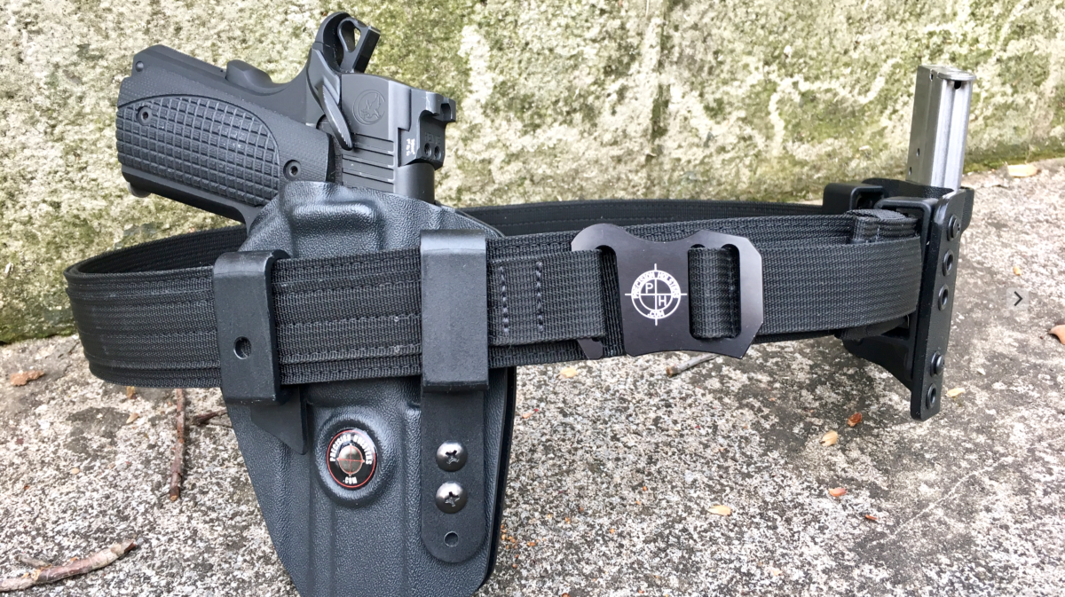 Precision Holsters Tactical Concealed Carry Nylon Belt