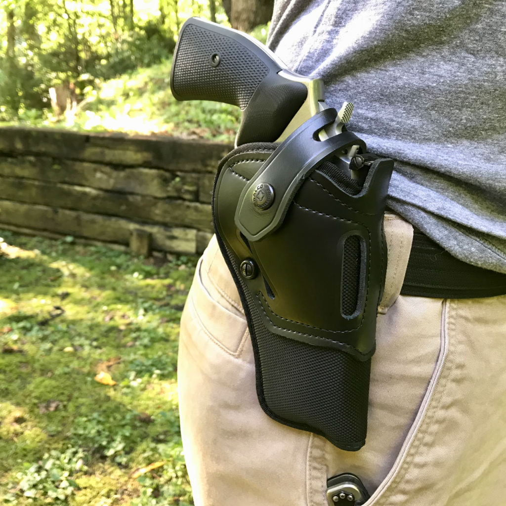 Universal Holster: The Galco Switchback - RevolverGuy Com