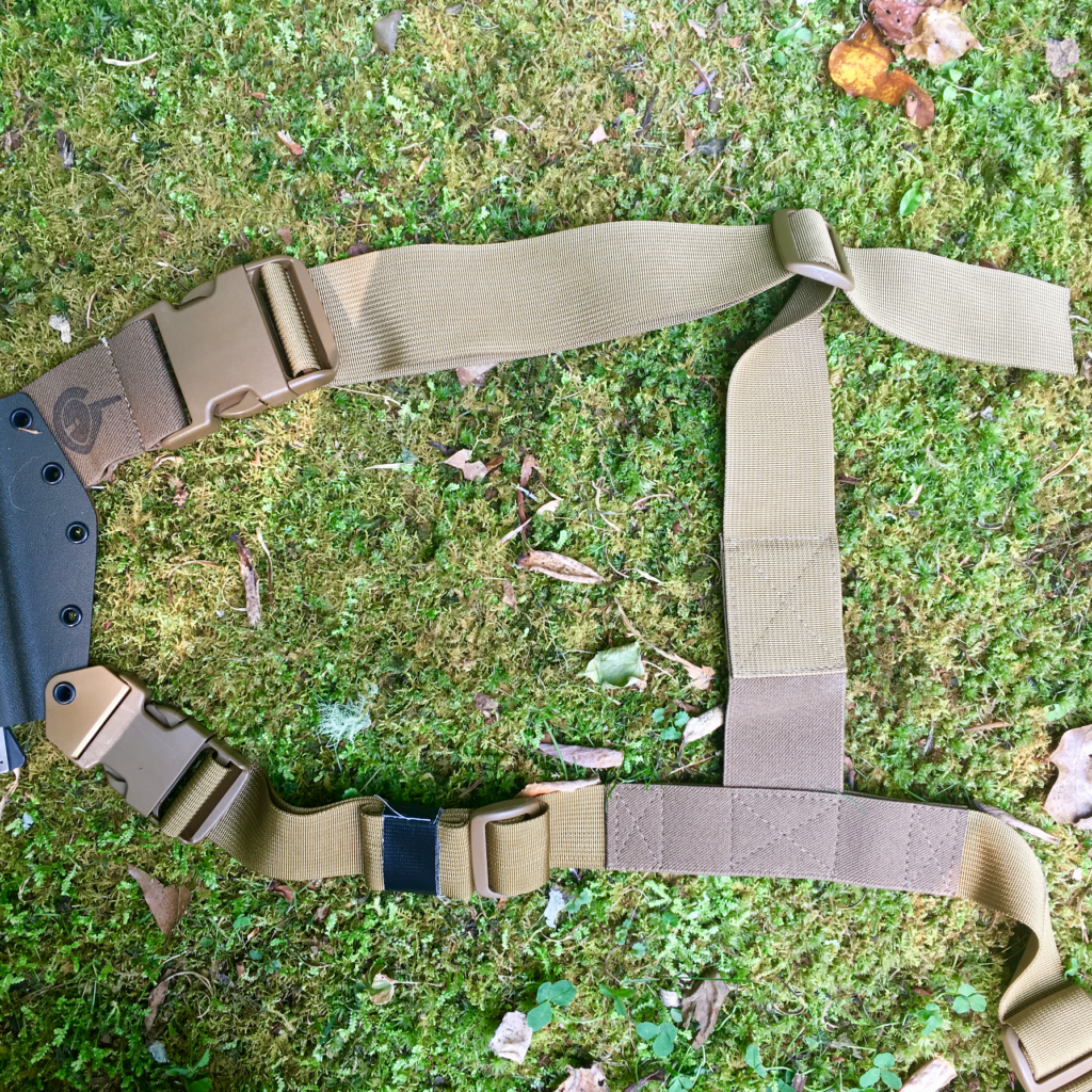 The Kenai Chest Holster harness.