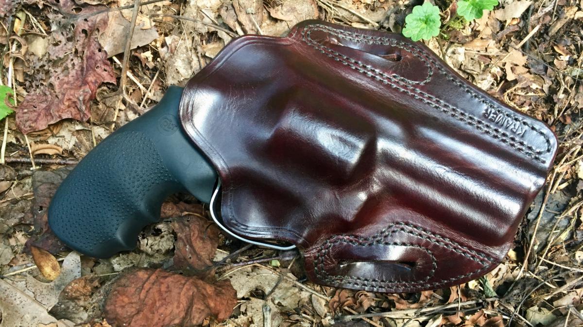 The Kramer Belt Scabbard & The Colt King Cobra